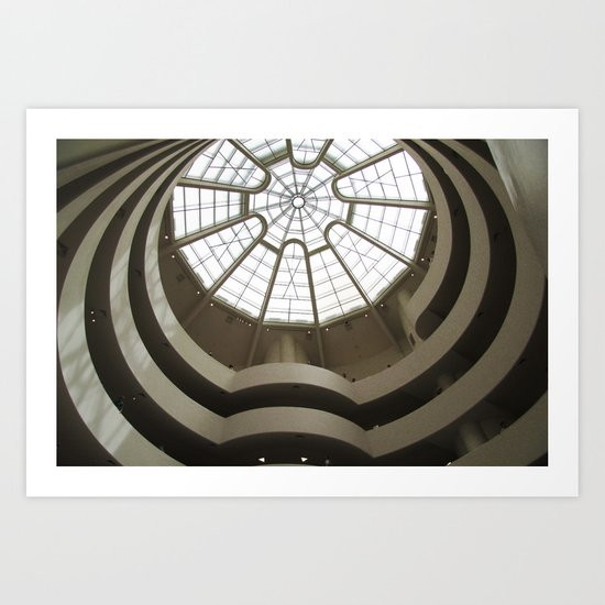 Guggenheim 02 Art Print