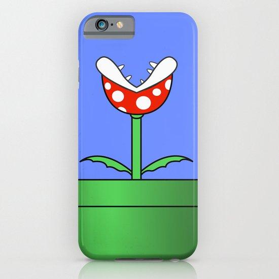 Minimalist Piranha Plant iPhone & iPod Case