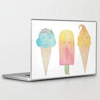 icecream Laptop & iPad Skins featuring Icecream by FLeK'N
