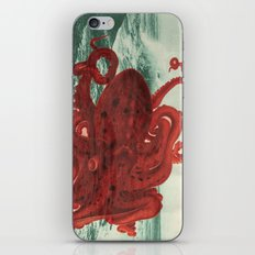Octopus Beach iPhone Skin