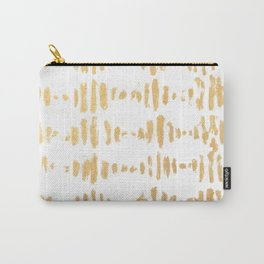 Golden Heartbeat Carry-All Pouch