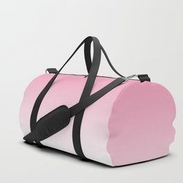 Aria Pink and White Gradient Duffle Bag