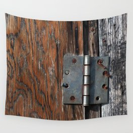 Battered Hinge Wall Tapestry