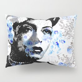 LADY AND ORCHIDS Pillow Sham