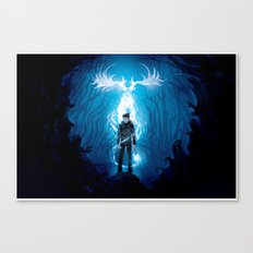 Prongs will Ride Canvas Print