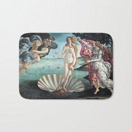 The Birth of Venus, Sandro Botticelli Bath Mat