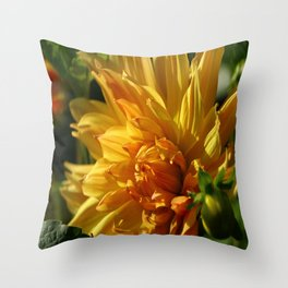 On The Bright Side Throw Pillow