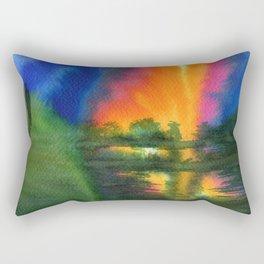 Witnesses Rectangular Pillow
