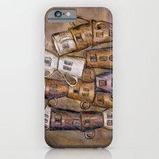 Coffeehouse - draw Slim Case iPhone 6s