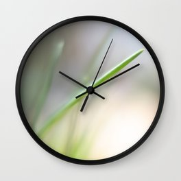 A Single Chive Wall Clock