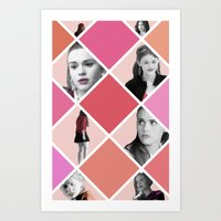 lydia martin Art Prints featuring Lydia Martin - Teen Wolf by lena e