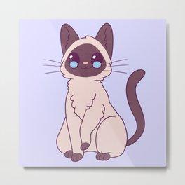 Siamese Cat Metal Print