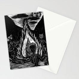 Danza para Huehueteotl. Abuelo fuego. Stationery Cards