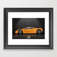 McLaren F1 LM Framed Art Print