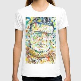 ERNEST SHAKLETON - watercolor portrait T-shirt
