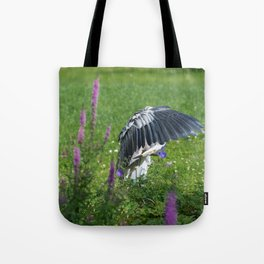 Welcome Heron Tote Bag