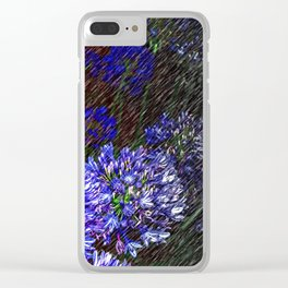 """""""Night Flowers #56"""" Clear iPhone Case"""