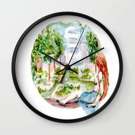 Eden Terrace Wall Clock