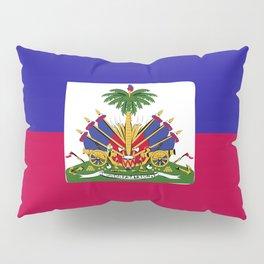 Haiti flag emblem Pillow Sham