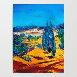 Sunny Day In Provence Poster
