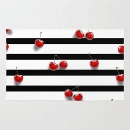 Cherry Stripes Rug
