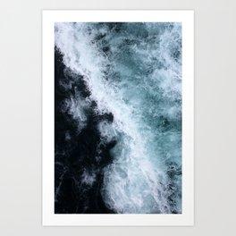 Ocean Wave #1 Art Print