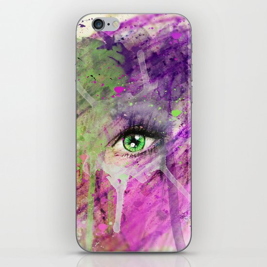 The eye of madness... iPhone & iPod Skin