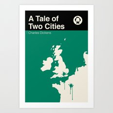 A Tale Of Two Cities  Art Print