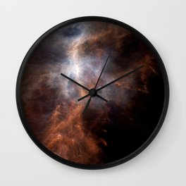 the hunter becomes fire | space #08 Wall Clock