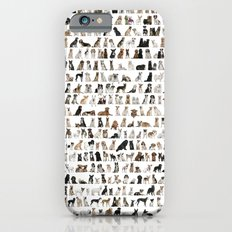 Dogs, Dogs and dogs iPhone 6 Slim Case