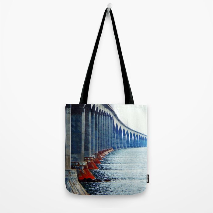 Confederation Bridge New-Brunswick Tote Bag