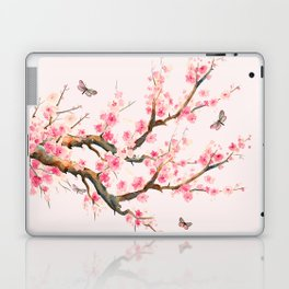 Pink Cherry Blossom Dream Laptop & iPad Skin