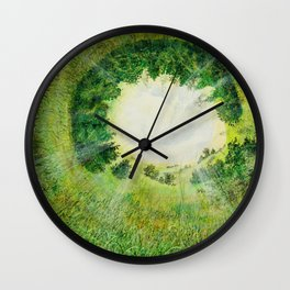 formation of nature Wall Clock
