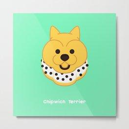 Chipwich Terrier Metal Print