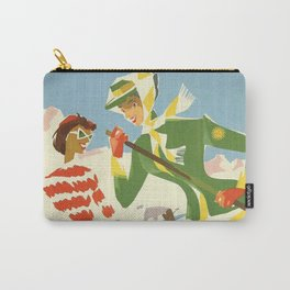 Two Lady Carry-All Pouch