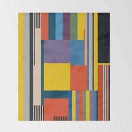 BAUHAUS RISING Throw Blanket