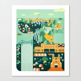 Floripa Brazil Canvas Print