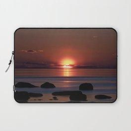 Shock-wave Sunset Laptop Sleeve