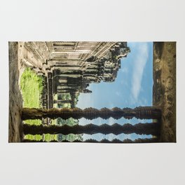 Angkor Wat, Window of the Outer Wall, Cambodia Rug