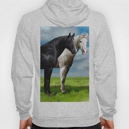two horses Hoody