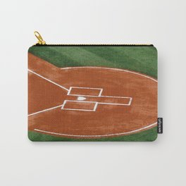 Baseball Field - Illustration Graphic Design Carry-All Pouch