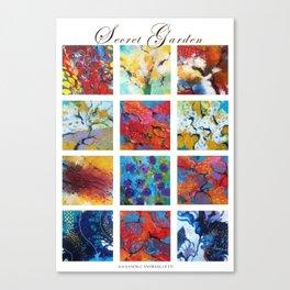 Secret garden composition Canvas Print