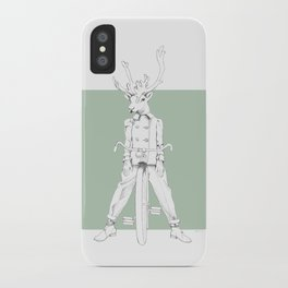 Weird & Wonderful: Racing Reindeer iPhone Case