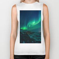aurora Biker Tanks featuring Aurora by StayWild