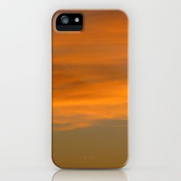 Sunset Clouds Photography iPhone Case