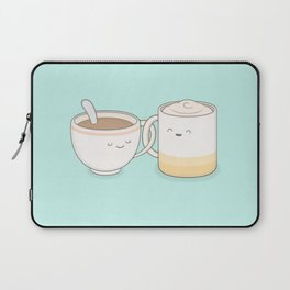 coffee, tea.. everything is fine by me! Laptop Sleeve