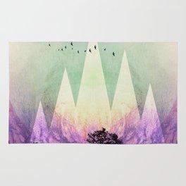 TREES under MAGIC MOUNTAINS VII Rug