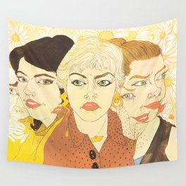 Withdrawing from Reality Wall Tapestry