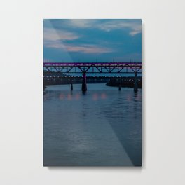 Edmonton High Level Bridge Metal Print