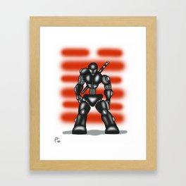 Robot Series - Snake-Eyes Model Framed Art Print